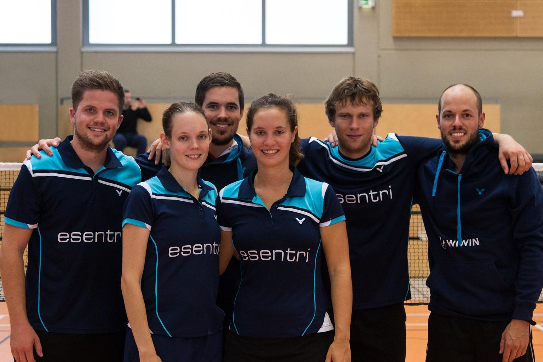 Neusatz Badminton