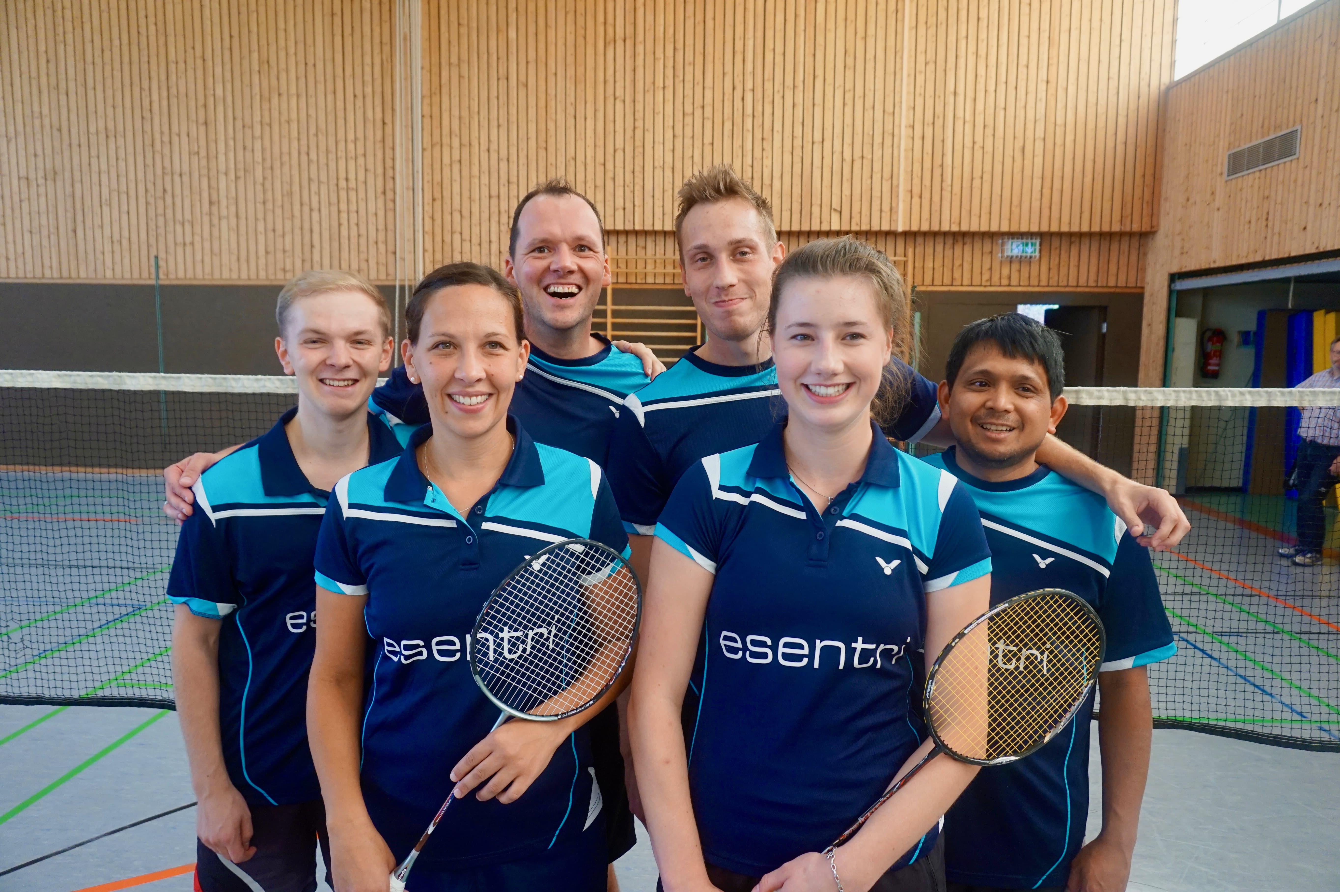 Badminton Neusatz